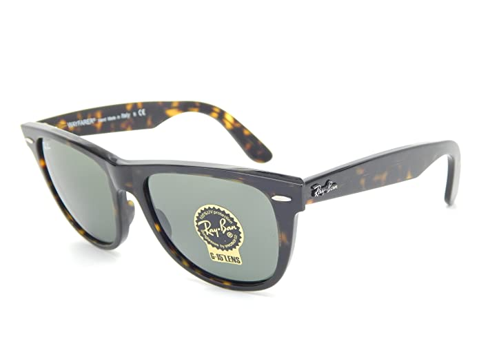 b767ab10d7 New Ray Ban Orginal Wayfarer RB2140 902 Tortoise G-15 XLT 54mm Sunglasses