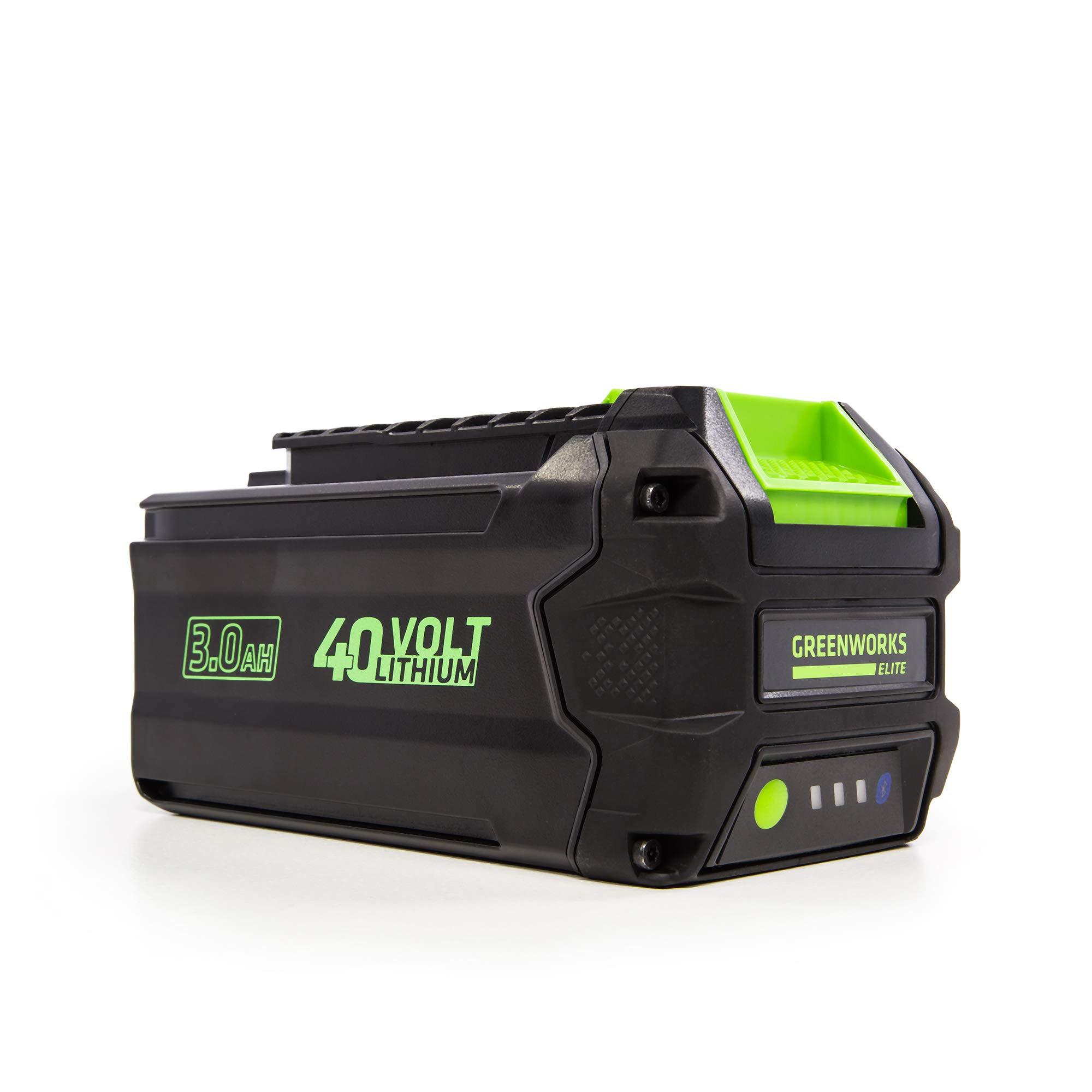 Greenworks 40V 3AH Smart Lithium-Ion USB Battery, 3.0 Ah L-300