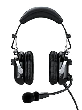 7fed47b7b72 FARO G2 Aviation Headset ANR - Black: Amazon.co.uk: Electronics