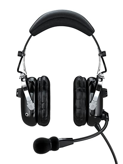 eb89ae39ef7 Faro G2 ANR (Active Noise Reduction) Premium Pilot Aviation Headset with  Mp3 Input -