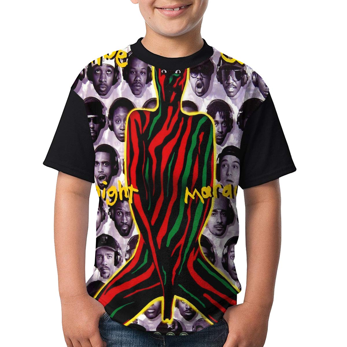 A Tribe Called Quest T Shirt Youth Boy Shirt Round Neck Short Sleeve Tees