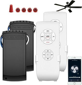 Kit de Control Remoto de Ventilador de Techo, WI-FI Smart Fan ...
