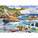 1000 Piece Jigsaw Puzzle - 'Rescue' - In support of the RNLI