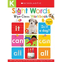 Sight Words: Scholastic Early Learners (Wipe-Clean Workbook)