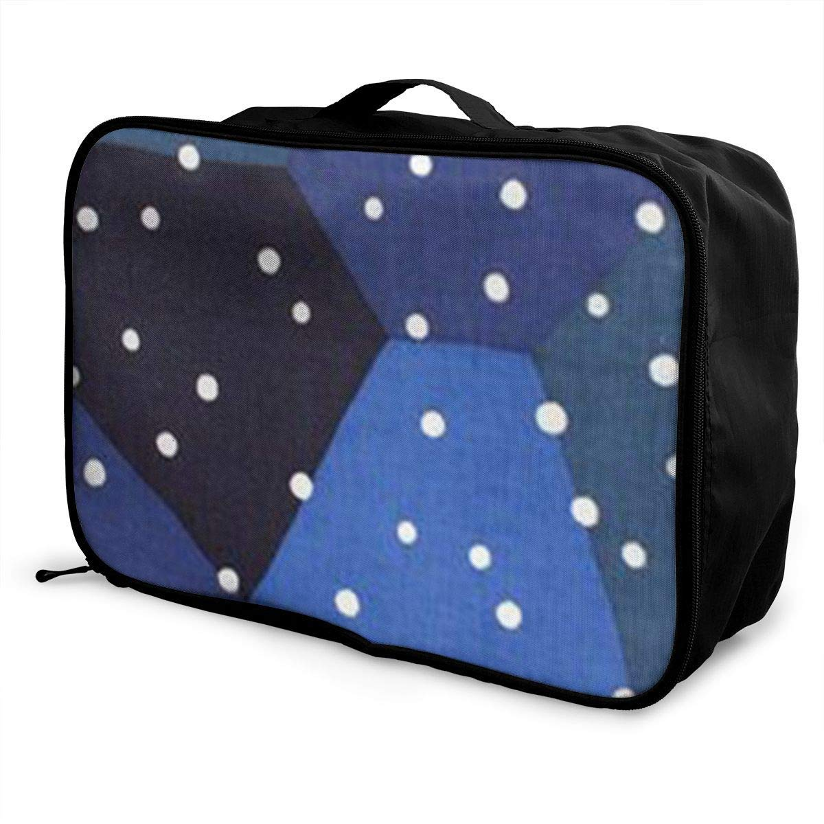 Portable Luggage Duffel Bag Winter Song Travel Bags Carry-on In Trolley Handle