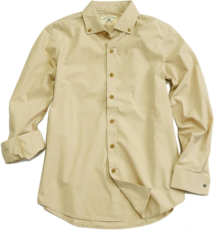 Kakadu Traders Australia Safari Outdoor - Camisa de Manga Larga para Hombre, Color Beige: Amazon.es: Ropa y accesorios