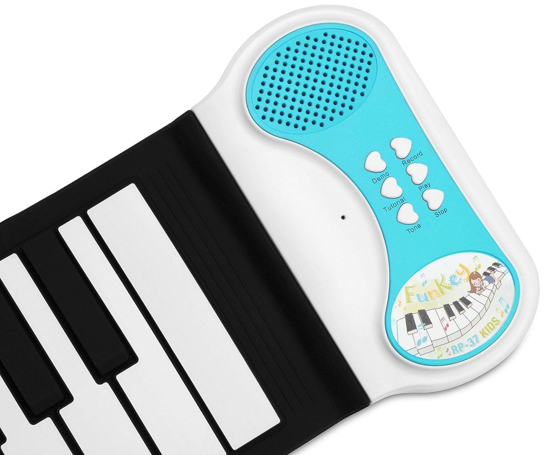 Funkey RP-37 Kids teclado enrollable para niños: Amazon.es: Instrumentos musicales