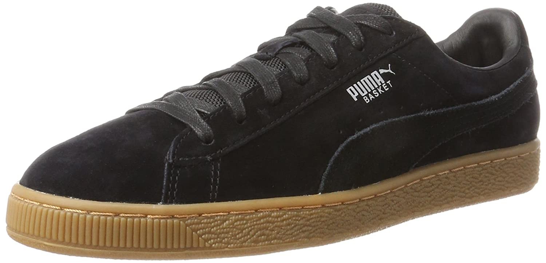 Puma Basket Classic Weatherproof, Zapatillas Unisex Adulto 42.5 EU|Negro (Puma Black-puma Silver 04)