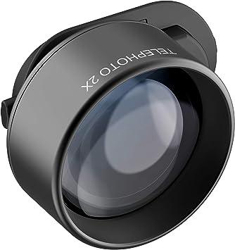 Olloclip Telephoto Essential - Lente con Zoom Óptico 2X, Lente ...
