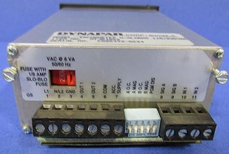 Amazon.com: dynapar mtjr1s00 Max Jr Tech 1 módulo tacómetro ...