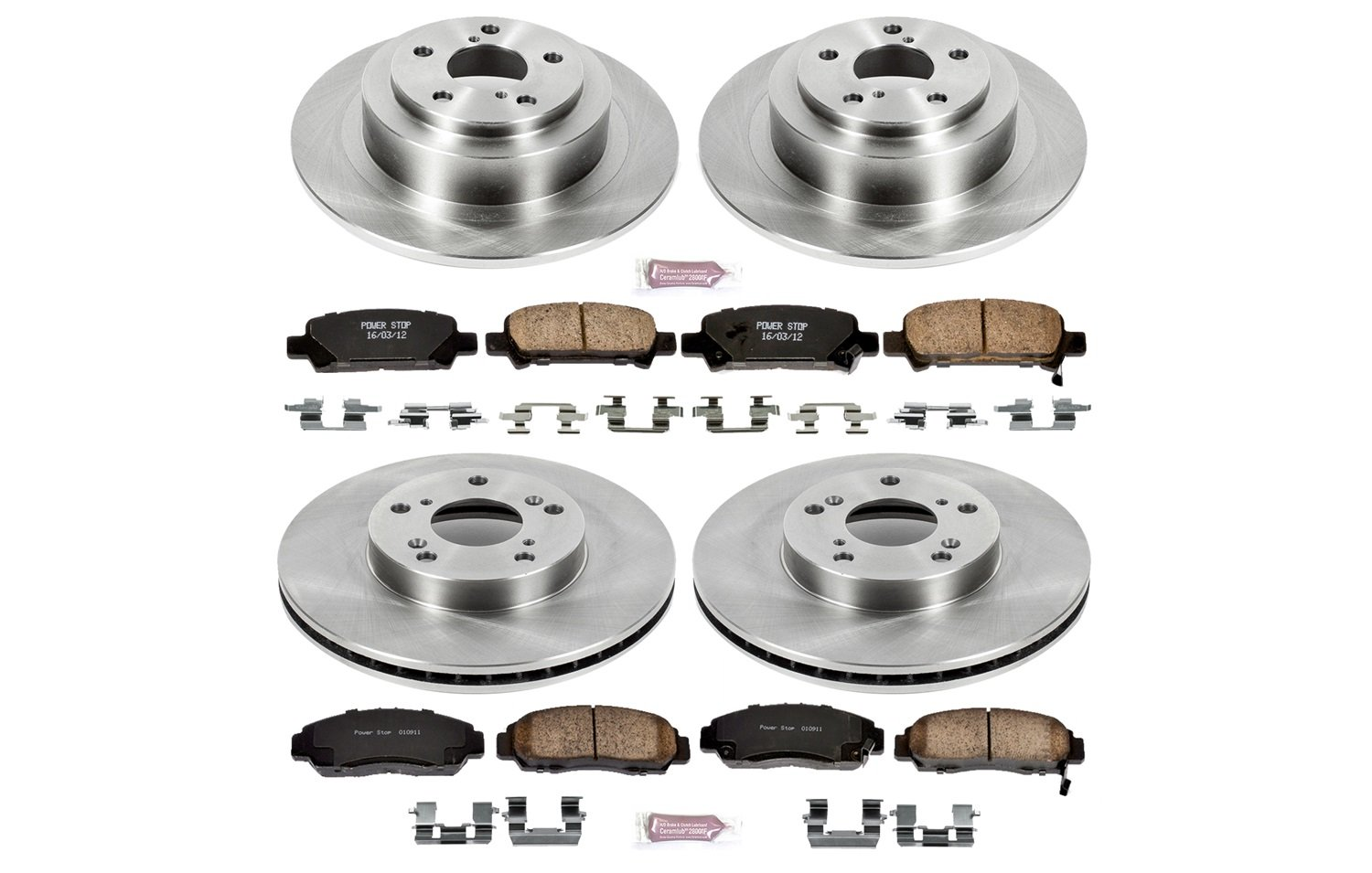 Autospecialty KOE2557 1-Click OE Replacement Brake Kit Power Stop