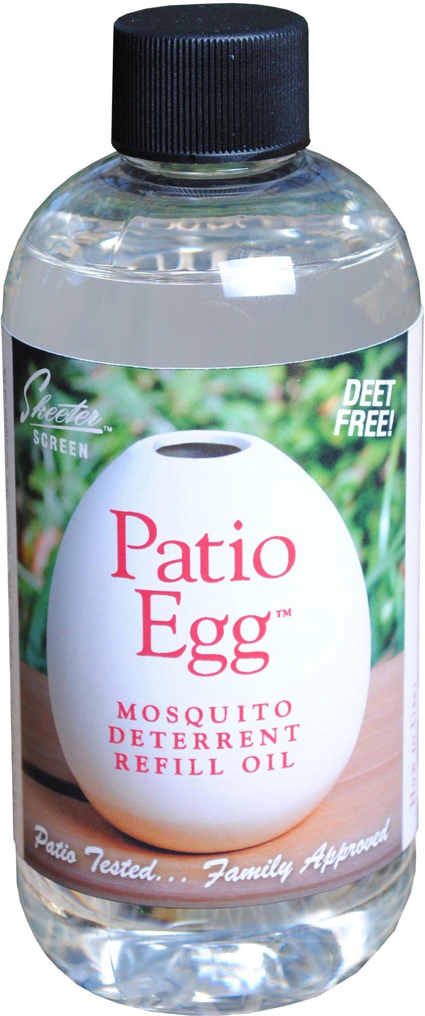 Scent Shop 90602 Skeeter Screen Patio Egg Mosquito Deterrent Refill Oil, 8 Ounces, 1,