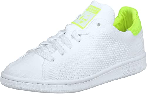 adidas Stan Smith PK W Scarpa ftwr white solar yellow  Amazon.it ... c59ecd41fd