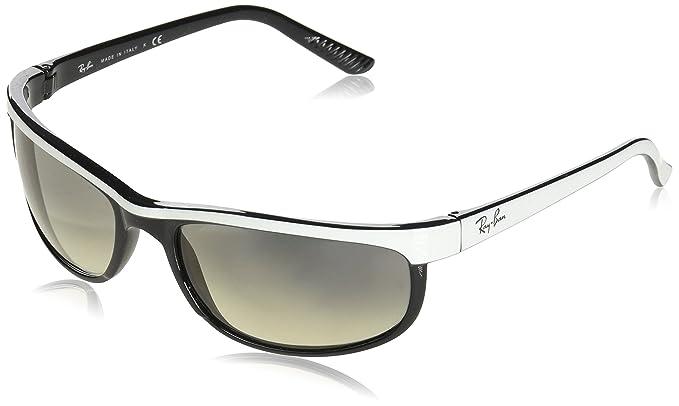 Ray-Ban Predator 2 Gafas de sol, Top White On Black, 62 para ...