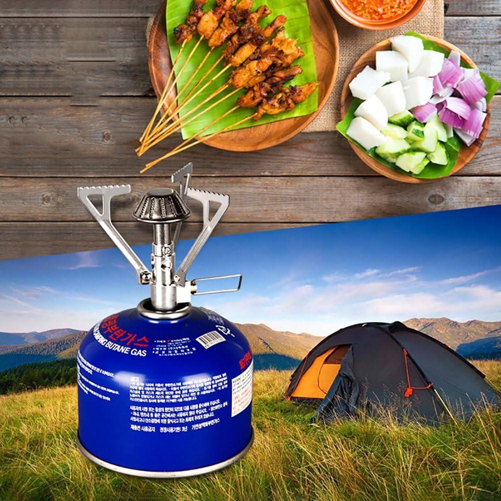 Aesy Camping Estufa, Quemadores de Gas Cocina Al Aire Libre ...