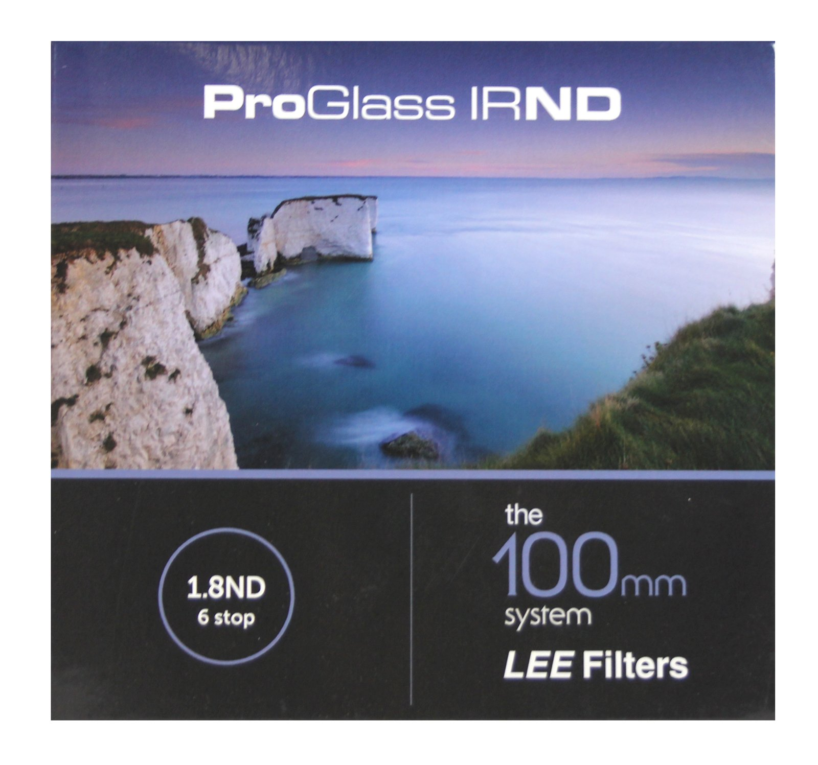 Lee Filters ProGlass 100mm IRND 1.8 ND 6 Stop Glass Filter 100x100mm by Lee Filters