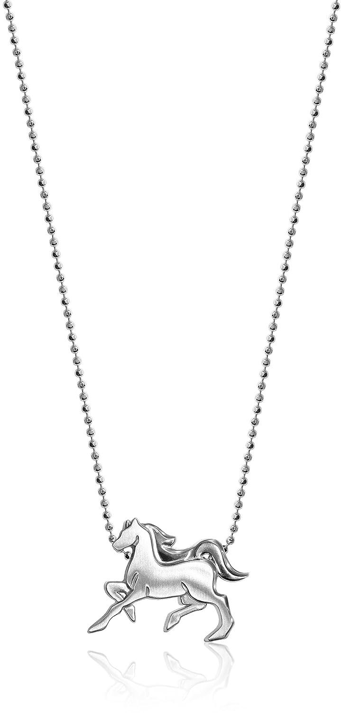 Alex WooLittle Signs Animals Horse Pendant Necklace NSIGNHO-S