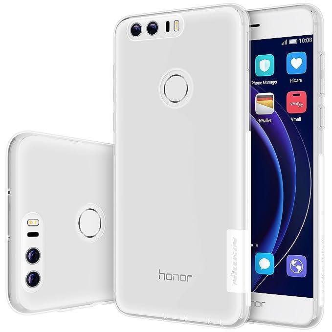 Nillkin Carcasa de TPU para Huawei Honor 8 - Brown-Parent: Amazon ...
