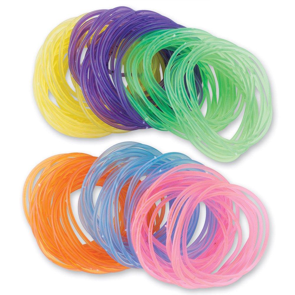 SmileMakers Glow-in-The-Dark Bracelets - 144 per Pack