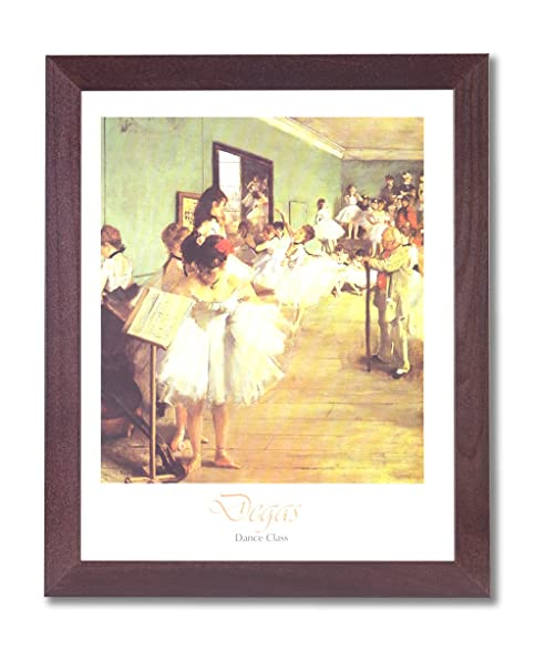 Amazon.com: Girl Tutu Ballet Dance Class Ballerina Picture Framed ...