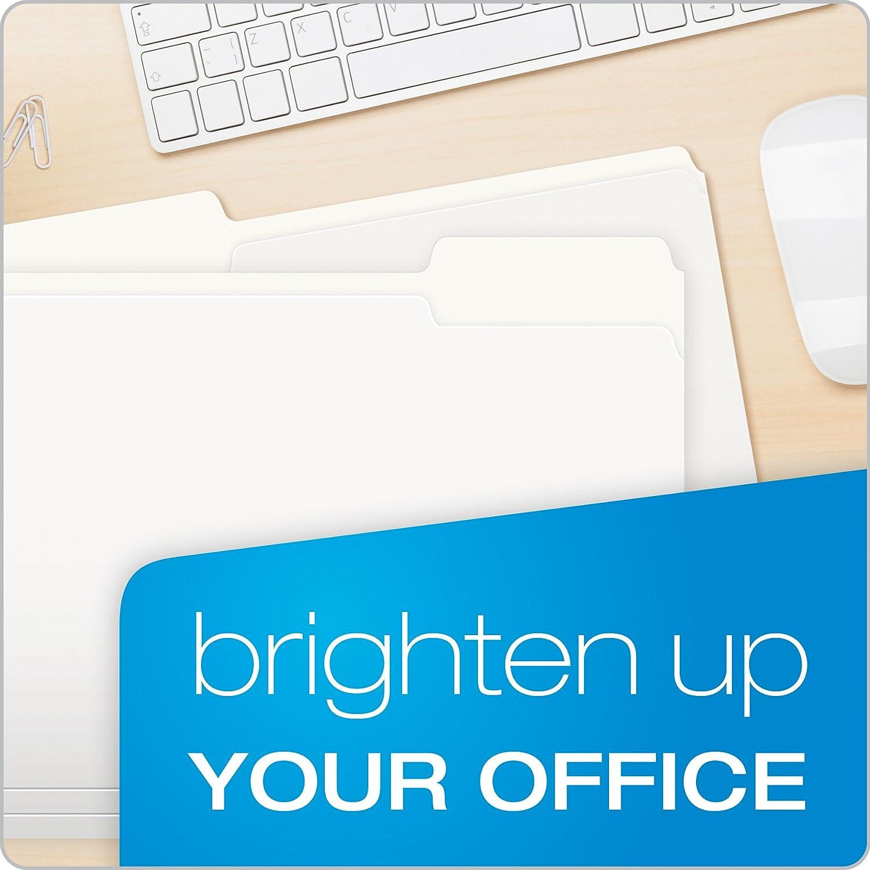 Letter Size Pendaflex Two-Tone Color File Folders 100 Per box Pink 1//3 Cut 152 1//3 PIN