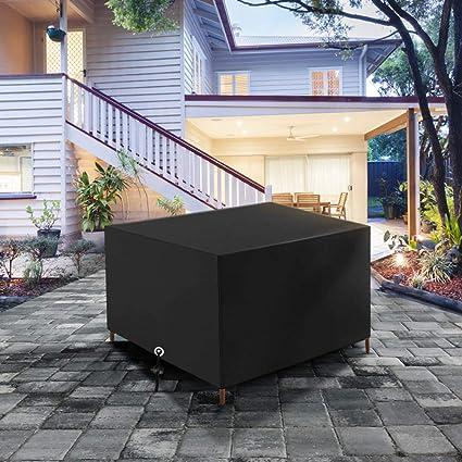 Amazon.com: NEVERLAND Funda rectangular para mesa de patio ...