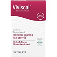 Viviscal Women's Hair Growth Supplements with Proprietary Collagen Complex, #1 Selling for Clinically Proven Results of…