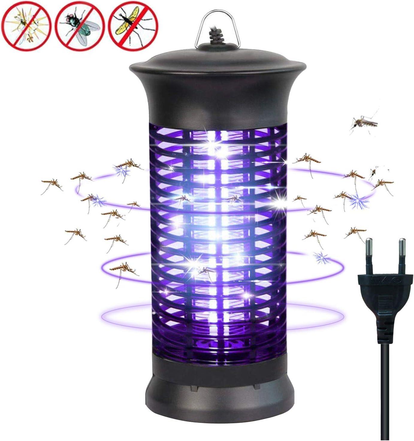 Lámpara matainsectos eléctrica con luz ultravioleta, protección contra moscas y mosquitos