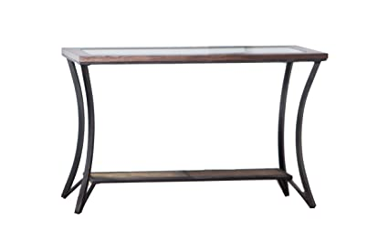 Excellent Simmons Upholstery 7319 49 Console Table Rustic Oak Pdpeps Interior Chair Design Pdpepsorg