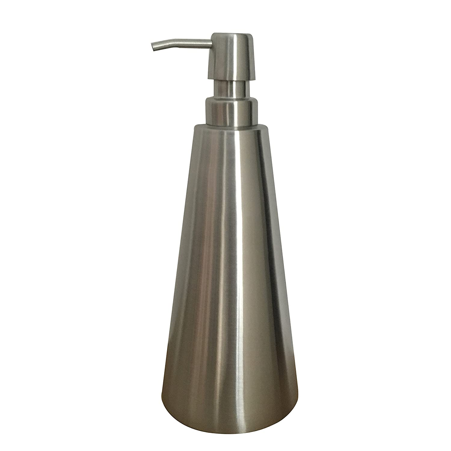 Stainless Steel Pump Dispenser Soap Lotion Bottle Bathroom Container Marketplace Hotel Restaurant, Brushed (27.3 oz / 800ml) Farnavi