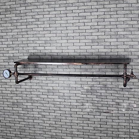 Estantería para decoración de paredes LOFT Percheros de ...
