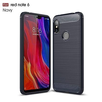 Amazon.com: Xiaomi Redmi Note 6 Pro Funda, Silicona a prueba ...