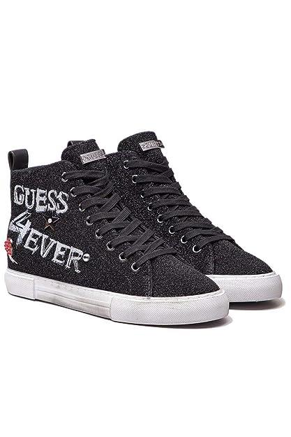Femme et Guess Sacs Baskets Noir Chaussures Pyke Cn5TX
