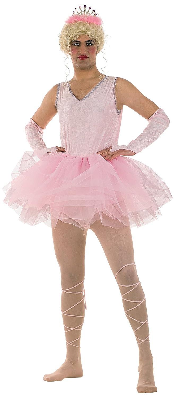 Limit Sport - Disfraz de bailarina para hombre, color rosa, talla ...