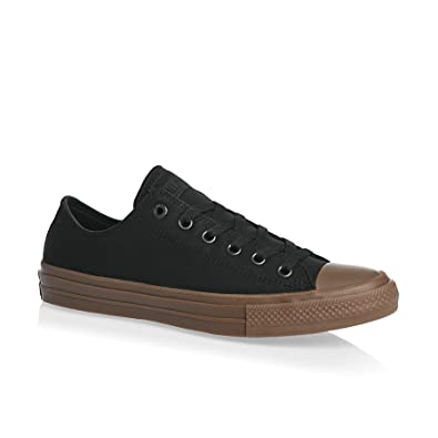 Converse Mens Chuck II Gum Low Top Canvas Trainers