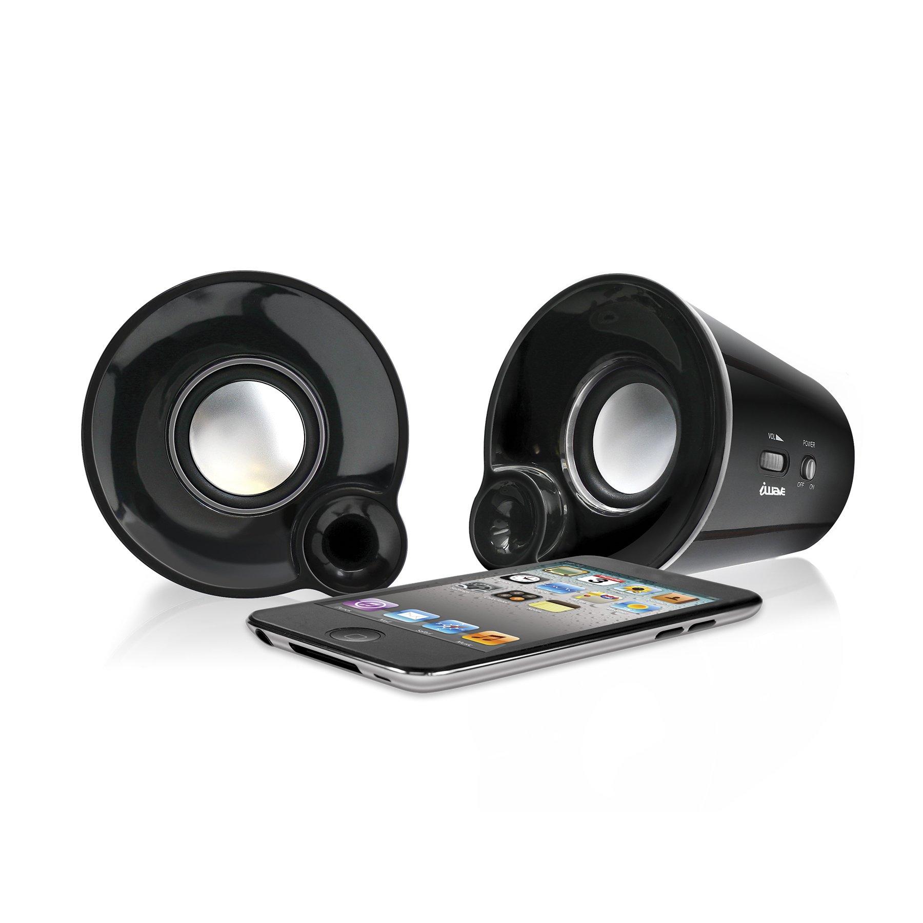 iWAVE Zoom Powerful Desktop Speakers with Universal Plug