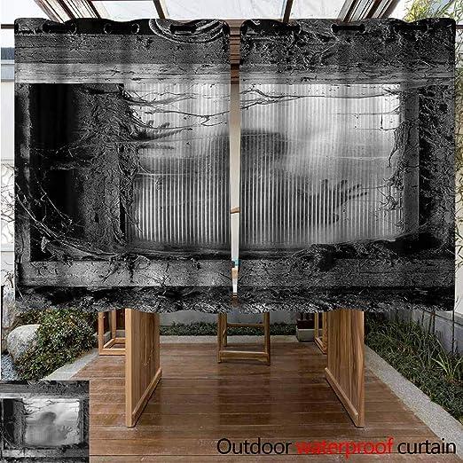 Sunnyhome - Cortinas para Exteriores con Aislamiento térmico: Amazon.es: Jardín