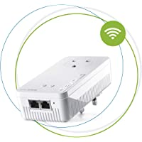 Devolo Magic 2 Wi-Fi: Ultimate Add-On Powerline Adapter and Mesh Wi-Fi, Up to 2400 Mbps Via Powerline, Wi-Fi AC, Wi-Fi Anywhere, Access Point, 2 x Gigabit LAN ports, Pass-Thru Socket, 4K/8K Ready