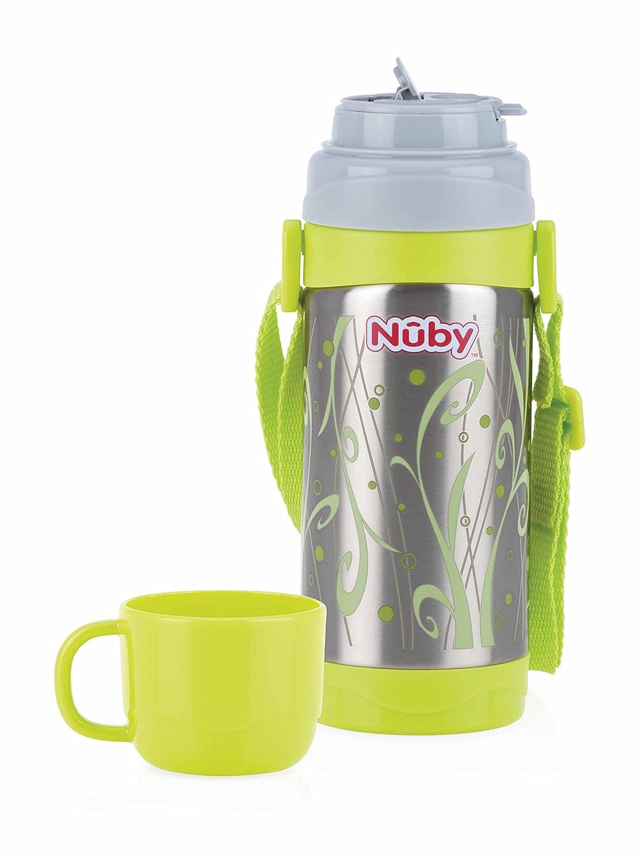 Nuby ID10278 Termo de acero inoxidable 360 ml