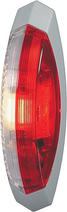 Montage encastr/é Couleur du voyant: limpide HELLA 2PF 009 514-001 Feu de position 24V LED