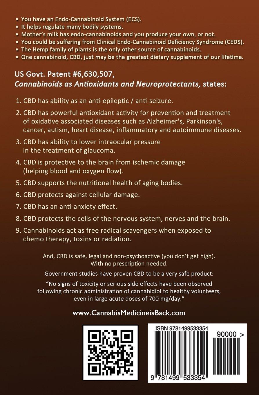 CBD-Rich Hemp Oil: Cannabis Medicine is Back: Amazon.es: Steven ...