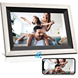 Jeemak Digital Picture Frame 12.5 inch WiFi Photo Frame with 1080P IPS Touch Screen Portrait or Landscape Stand Auto-Rotate S