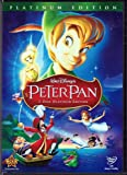 Peter Pan (DVD, 2007, 2-Disc Set, Platinum Edition) Brand New