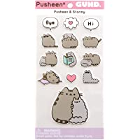 Gund Pusheen and Stormy Sticker Sheet, 13-Piece, Multicolor