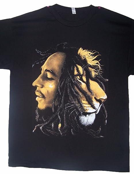 a85525b22787cd Bob Marley Lion of Judah Reggae Rasta T-Shirts Med Large & XLarge ...
