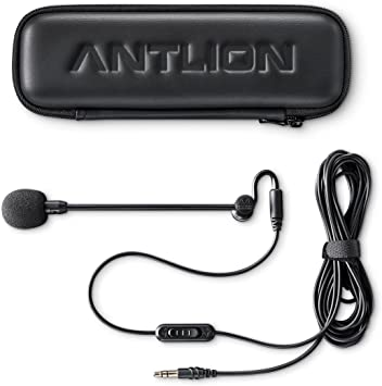 Noise Cancelling for Offices Antlion Audio ModMic Business Attachable Boom Microphone and Remote Work Call-Centers VOIP Video Conferencing