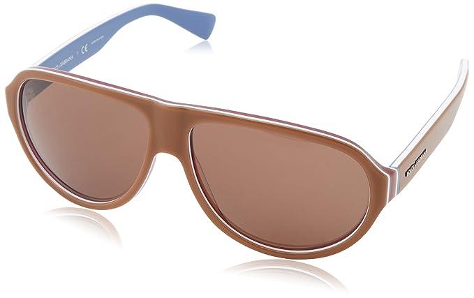 Gafas de Sol Dolce & Gabbana DG4204 BROWN/MULTILAYER/BLUETTE ...