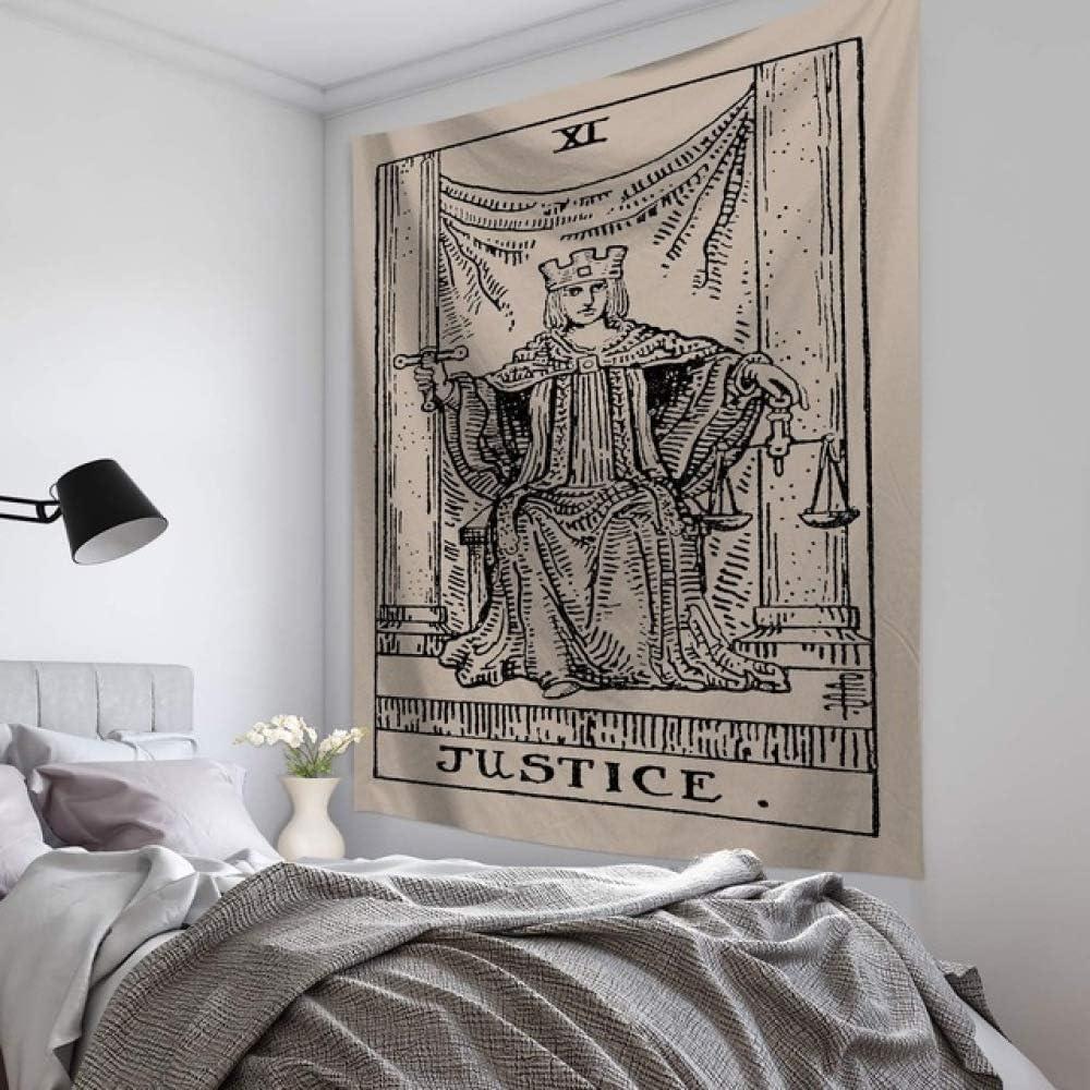 xkjymx Caballo de Dibujos Animados Colgante de Pared Patrón Divertido Arte Grecia Sol Luna Estrella Taro Tapices Pared: Amazon.es: Hogar