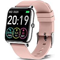 """Motast Smartwatch, Reloj Inteligente Mujer Pantalla TFT de 1,4"""", Pulsera Actividad con Monitor de Sueño Contador…"""