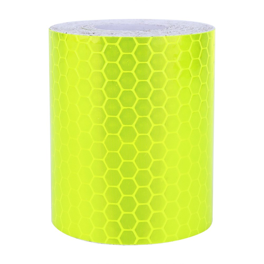Eboxer Yellow Reflective Safe Warning Tape, 5cm x 300cm